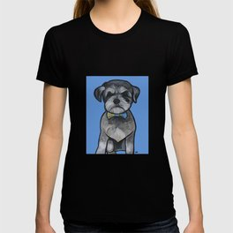 Gus the schnauzer mix T-shirt