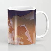 dungeons and dragons Mugs featuring Dragons and Direction: Louis by invisibleinnocence