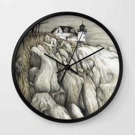 Bass Harbor Head Lighthouse Wall Clock