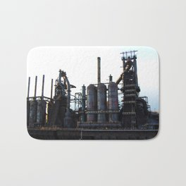 Bethlehem Steel Blast Furnaces 2 Bath Mat