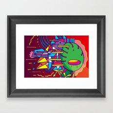 Alien Colors Framed Art Print
