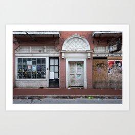 Burbon Street Morning Art Print