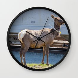 Watchful Guardian Wall Clock