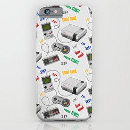 Arcade games 80s iPhone Case