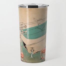 Bathing Woman Travel Mug