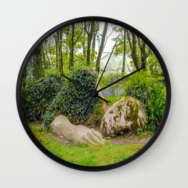 The Lost Gardens of Heligan - Mud Maid Wall Clock