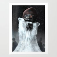 general Art Prints featuring The General by Tom Alex Buch