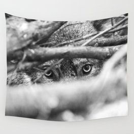 Wild Eyes Wolf Edition Wall Tapestry