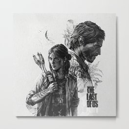 The Last of Us Part II Metal Print
