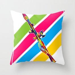 RPG-7 Bazooka Throw Pillow
