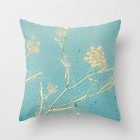 dance Throw Pillows featuring Dance by Cassia Beck