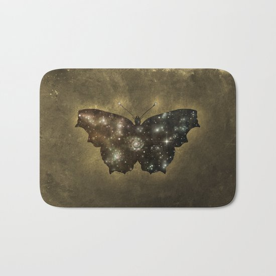 Cosmic Butterfly  Bath Mat