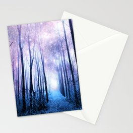Fantasy Forest Path Stationery Cards