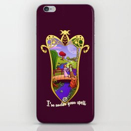 Under Your Spell iPhone Skin