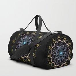 Contrast mandala Duffle Bag