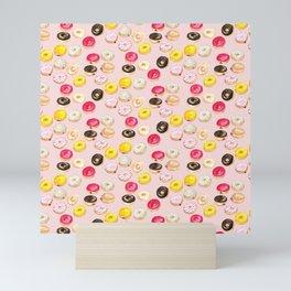 It's donut time - pink Mini Art Print