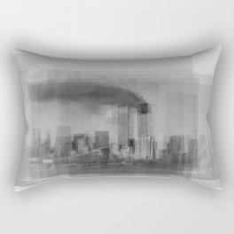 World Trade Centre 9-11 Overlay Rectangular Pillow