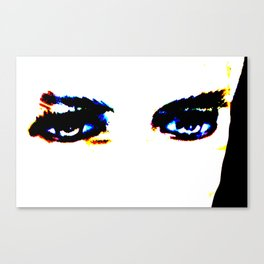 Lugosi's Eyes Canvas Print