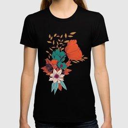 Botanical pattern 010 T-shirt