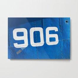 906 blue Metal Print