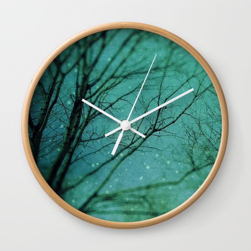 Magic In The Air Wall Clock by Sweetblue CLK851961