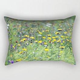 Summer Field Killington Vermont Rectangular Pillow