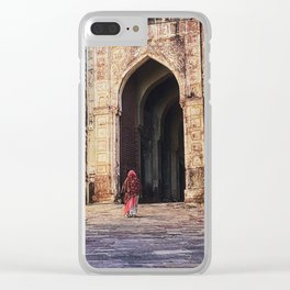 Through the Gate Clear iPhone Case