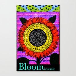 Bloom the Revolution Canvas Print