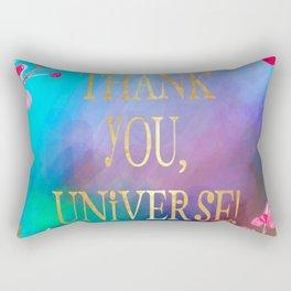Thank You, Universe! Rectangular Pillow