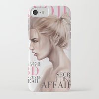 snk iPhone & iPod Cases featuring SnK Magazine: Armin by emametlo