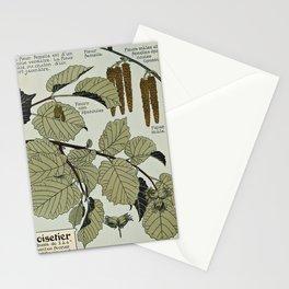 Maurice Pillard Verneuil - Étude de la plante (1903): Common Hazel Stationery Cards