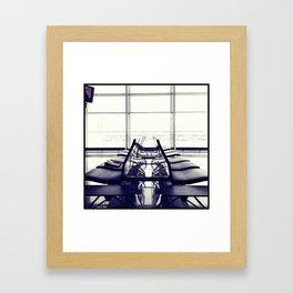 THE WAITING Framed Art Print