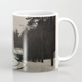 forest tram Coffee Mug