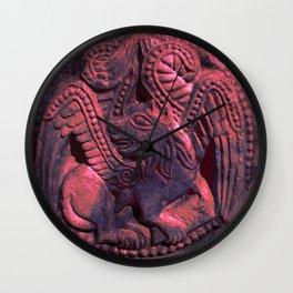 Romanesque lovers VI Wall Clock