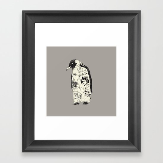 THE PENGUIN Framed Art Print