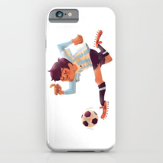 Lionel Messi, Argentina Jersey iPhone & iPod Case