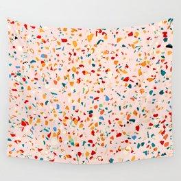 Blush Terrazzo Wall Tapestry