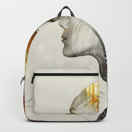 Fashion Geometry Backpack