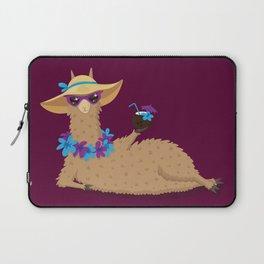 Bahama Llama Laptop Sleeve
