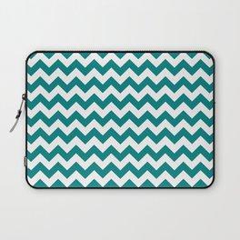 Chevron (Teal/White) Laptop Sleeve