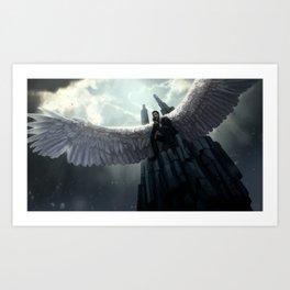 Throne Art Print
