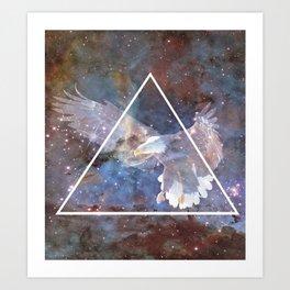 Flight Space Art Print