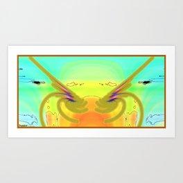 Frakblot Hope Art Print
