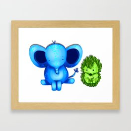 Nuggets! Framed Art Print