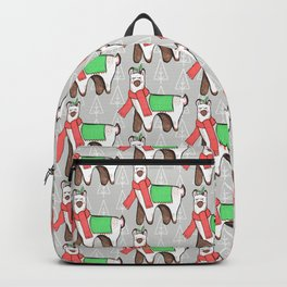 Christmas Llama Backpack