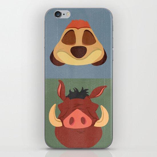 Timon and Pumbaa iPhone & iPod Skin