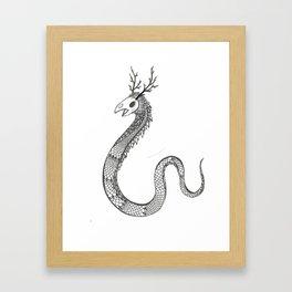 Another Monster. Framed Art Print