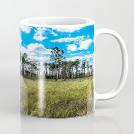 Cypress Trees and Blue Skies Coffee Mug