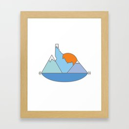 Idahome Framed Art Print