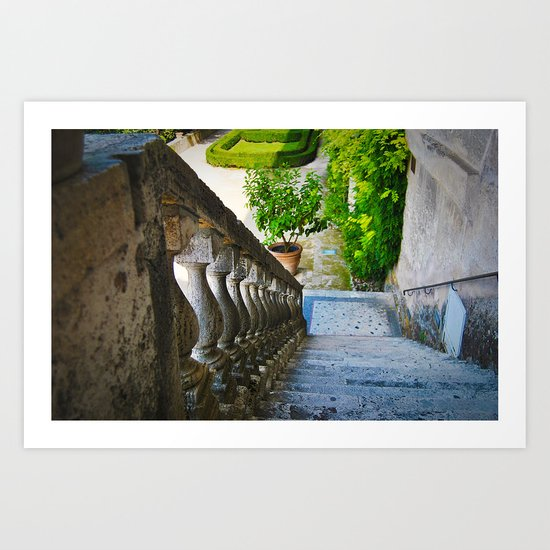 Beautiful Staircase Art Print